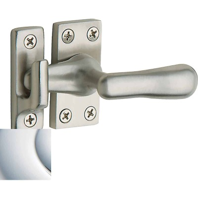Baldwin Estate Series Casement Fastener x Surface Strike - Polished Chrome