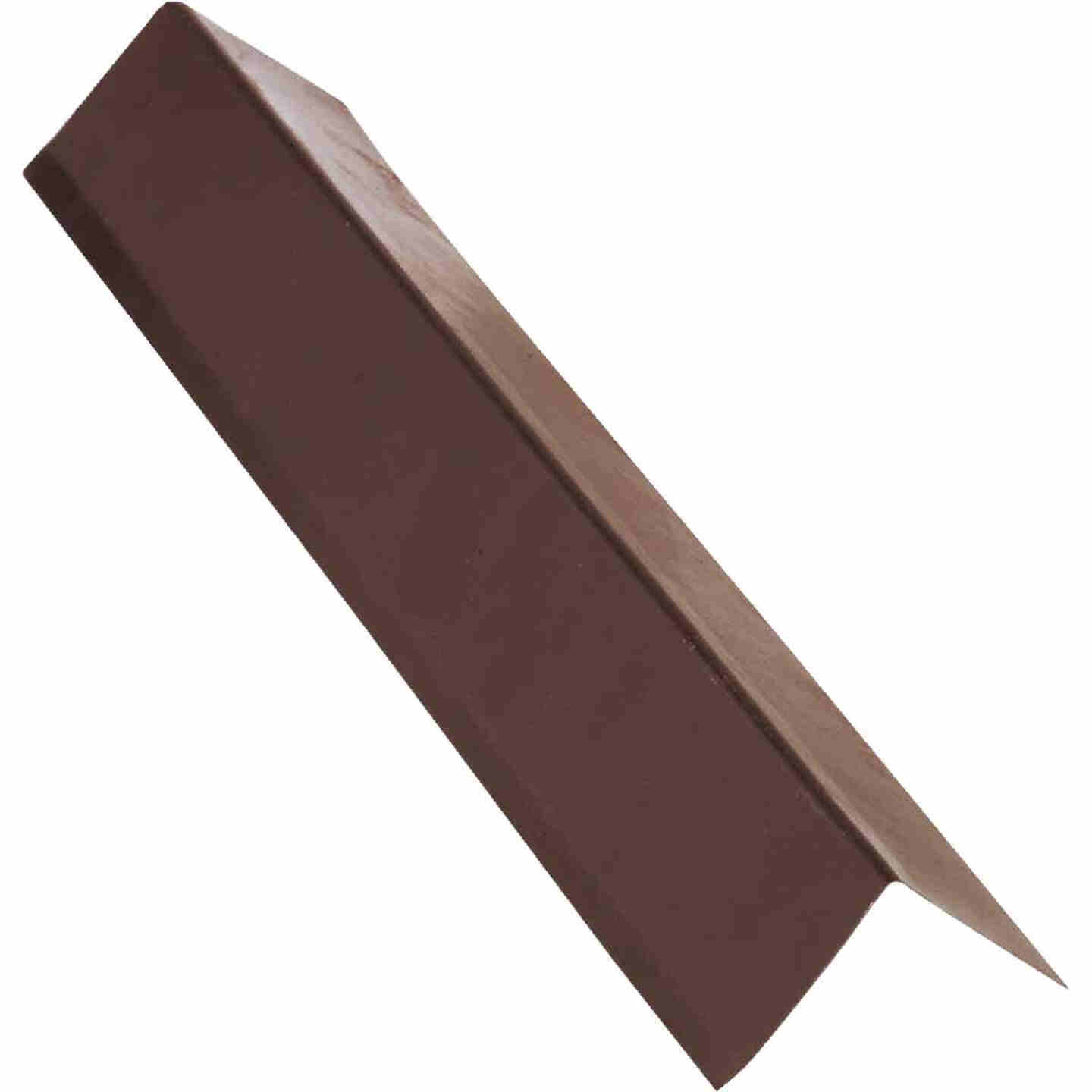 NorWesco A 2 In. X 2 In. Galvanized Steel Roof & Drip Edge Flashing, Brown Image 1