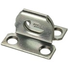 National 1-1/16 In. x 1-1/8 In. Zinc Plate Staple With Screws Image 1