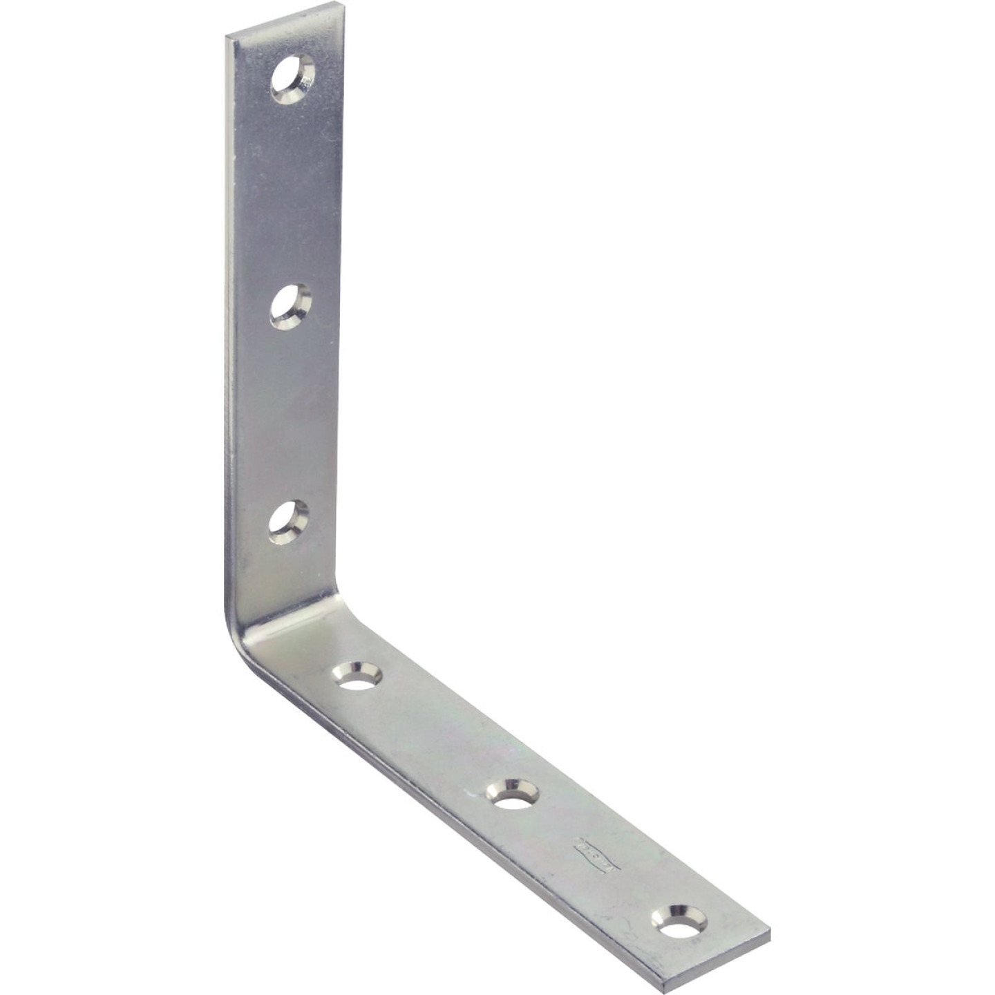 National Catalog 115 6 In. x 1-1/8 In. Zinc Corner Brace Image 1