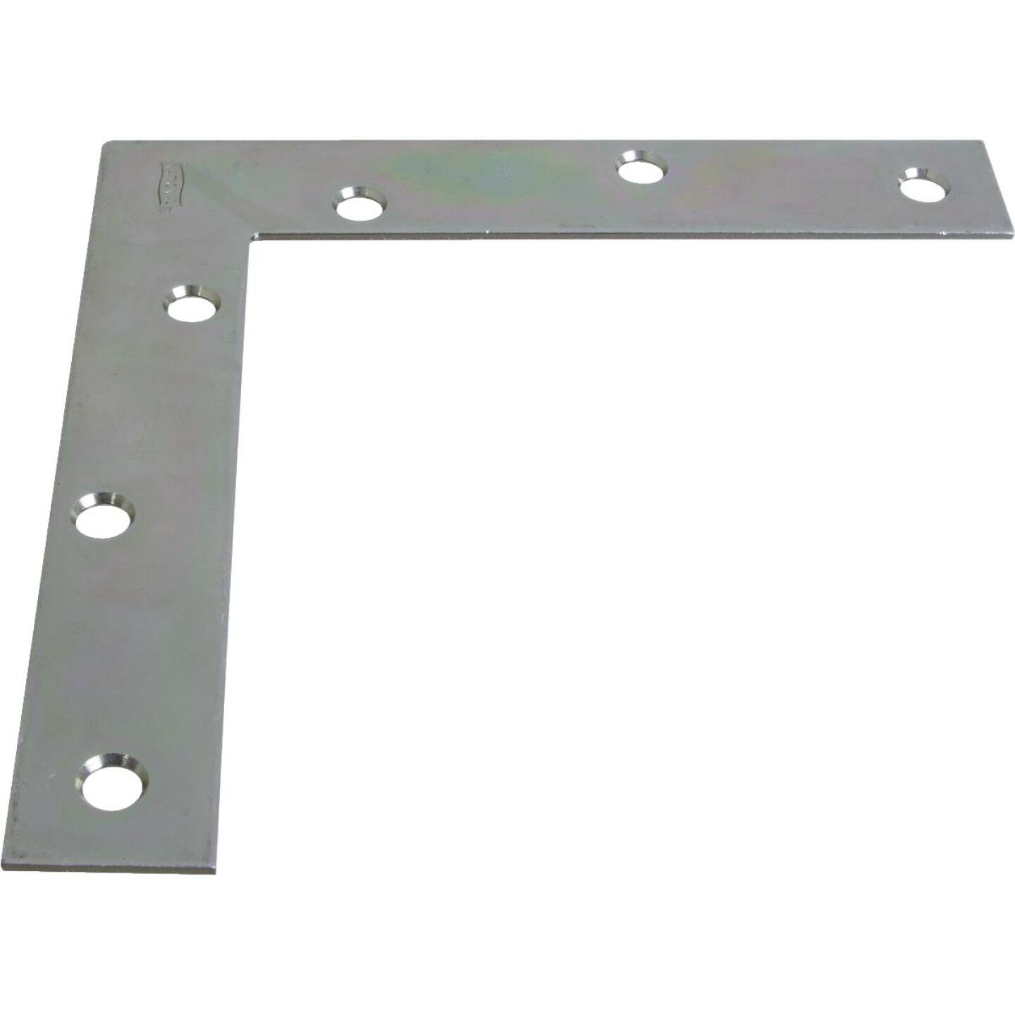 National Catalog 117 6 In. x 1 In. Zinc Flat Corner Iron Image 1