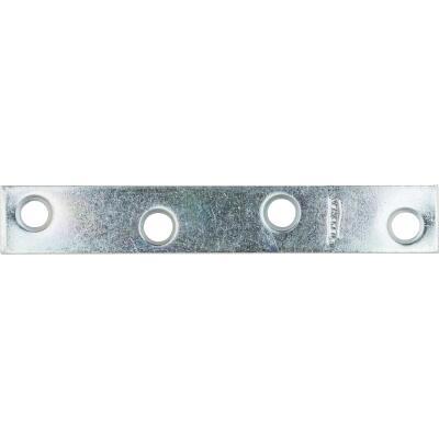 National Catalog 118 4 In. x 5/8 In. Zinc Steel Mending Brace