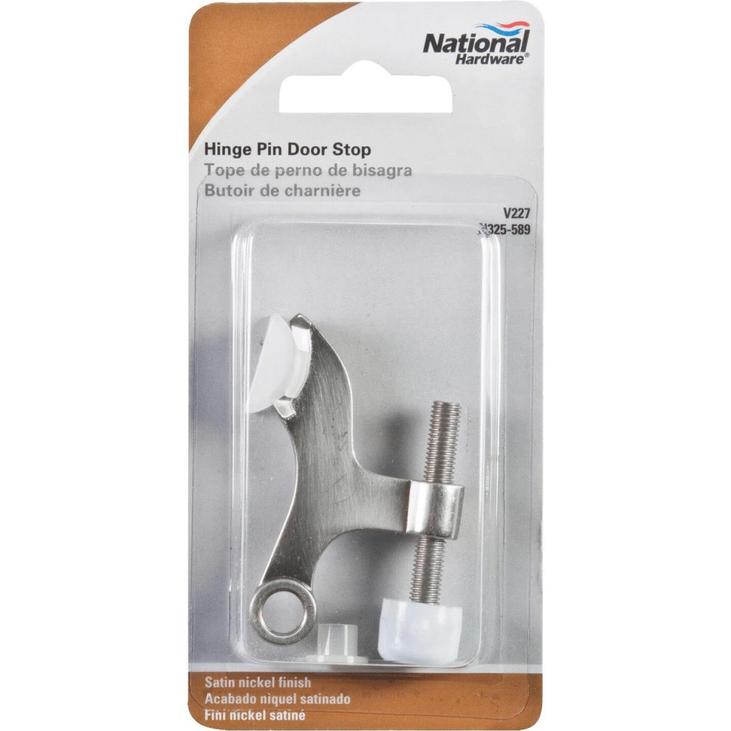 National Gallery Series Satin Nickel Hinge Pin Door Stop Image 2