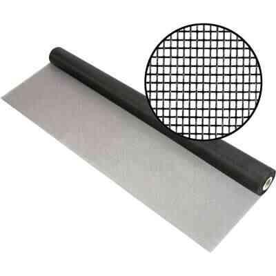 Phifer 48 In. x 100 Ft. Charcoal Fiberglass Mesh Screen Cloth