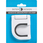 InterDesign Rubber Grip Broom Storage Hook Image 2