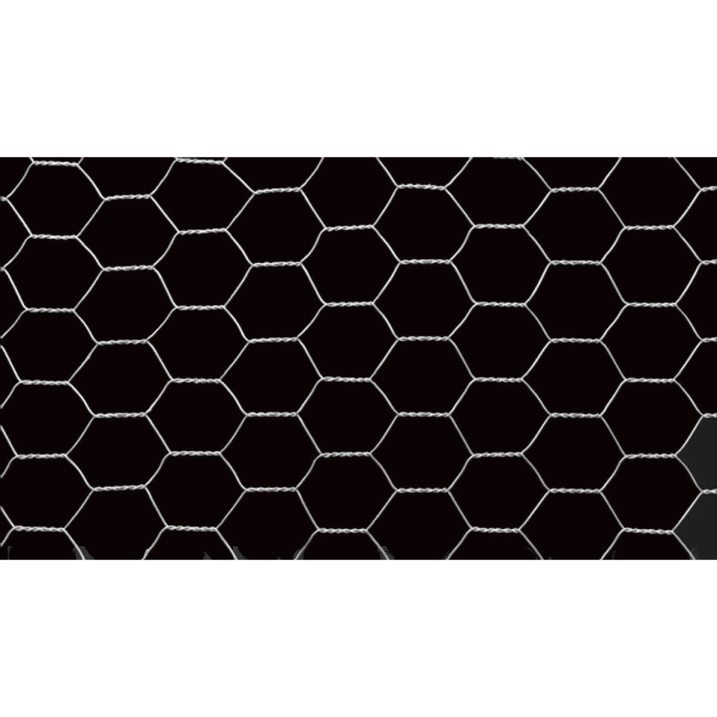 1 In. x 24 In. H. x 10 Ft. L. Hexagonal Wire Poultry Netting Image 4