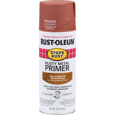 Rust-Oleum 12 Oz. Brown Rusty Metal Spray Primer