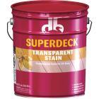 Duckback SUPERDECK VOC Transparent Exterior Stain, Redwood, 5 Gal. Image 1